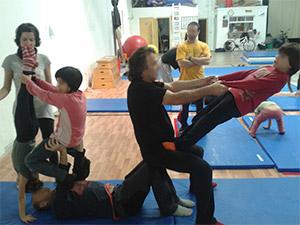 Circo en familia
